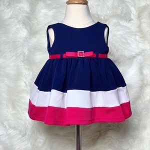 Other - Multi colored Baby Girls Dress 3-6 months
